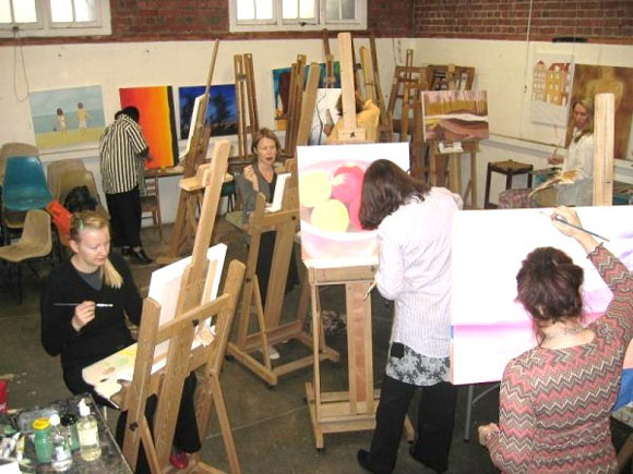 Learn To Paint Painting Art Classes St Kilda And Port